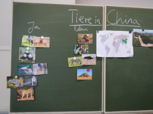 China an die Schule