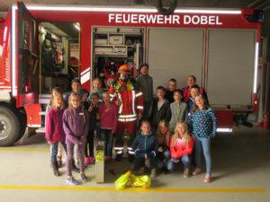 Besuch bei der Feuerwehr 2018