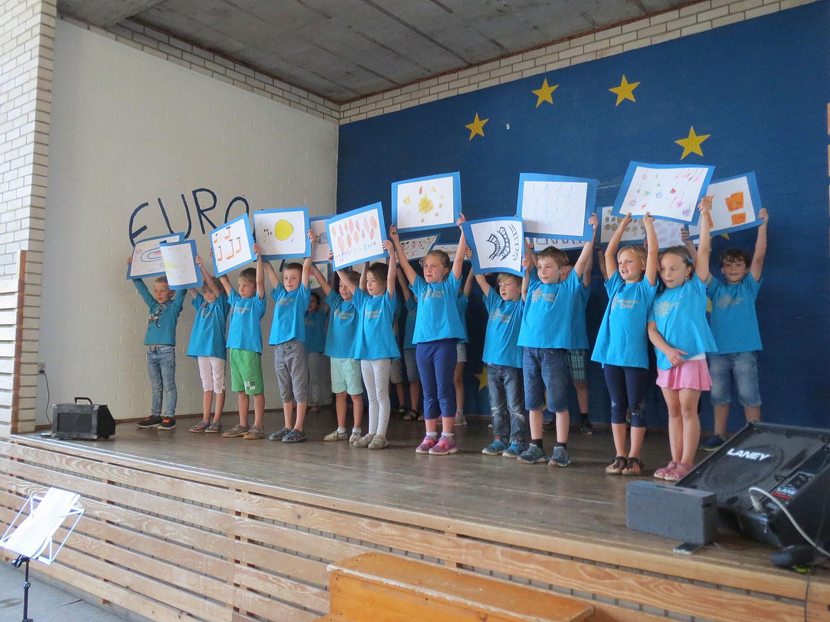 Einschulung unserer neuen Schulanfänger in der Grundschule Dobel